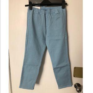 Uniqlo Denim Cropped Legging Pants